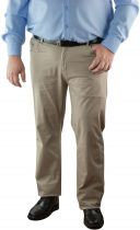 Pantalon Chino Stretch Beige All Size du 42US au 62US