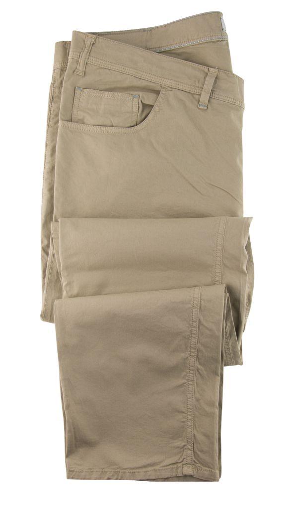 Pantalon Chino Stretch Toile Ultralégère Beige Maxfort du 52fr au 88fr