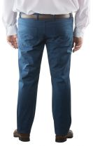Pantalon Chino Stretch Toile Ultralégère Bleu Marine Maxfort du 52fr au 70fr
