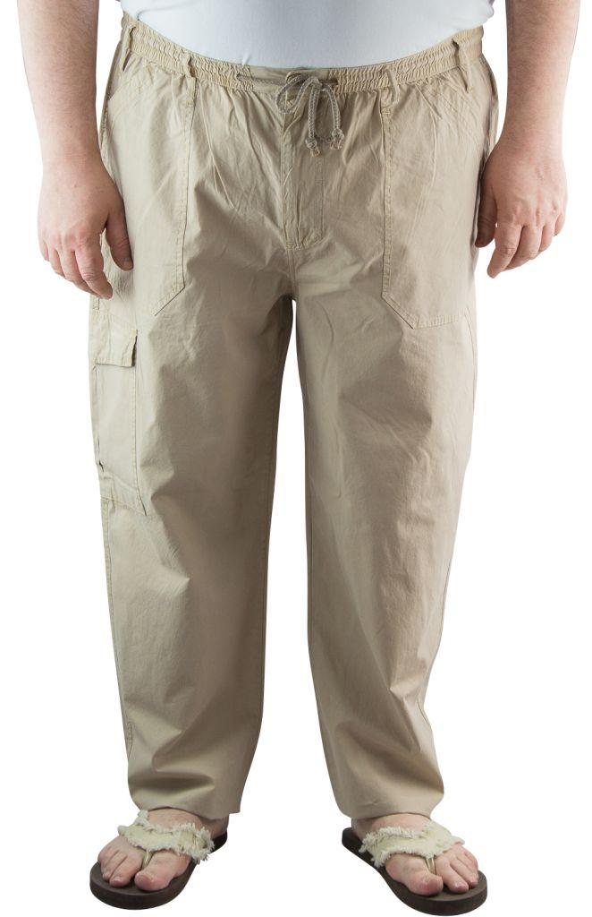 pantalon d 39 t toile coton beige maxfort du 2xl au 8xl. Black Bedroom Furniture Sets. Home Design Ideas