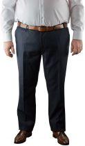 Pantalon de Costume Bleu Marine Pierre d\'Arlanc du 54FR au 74FR