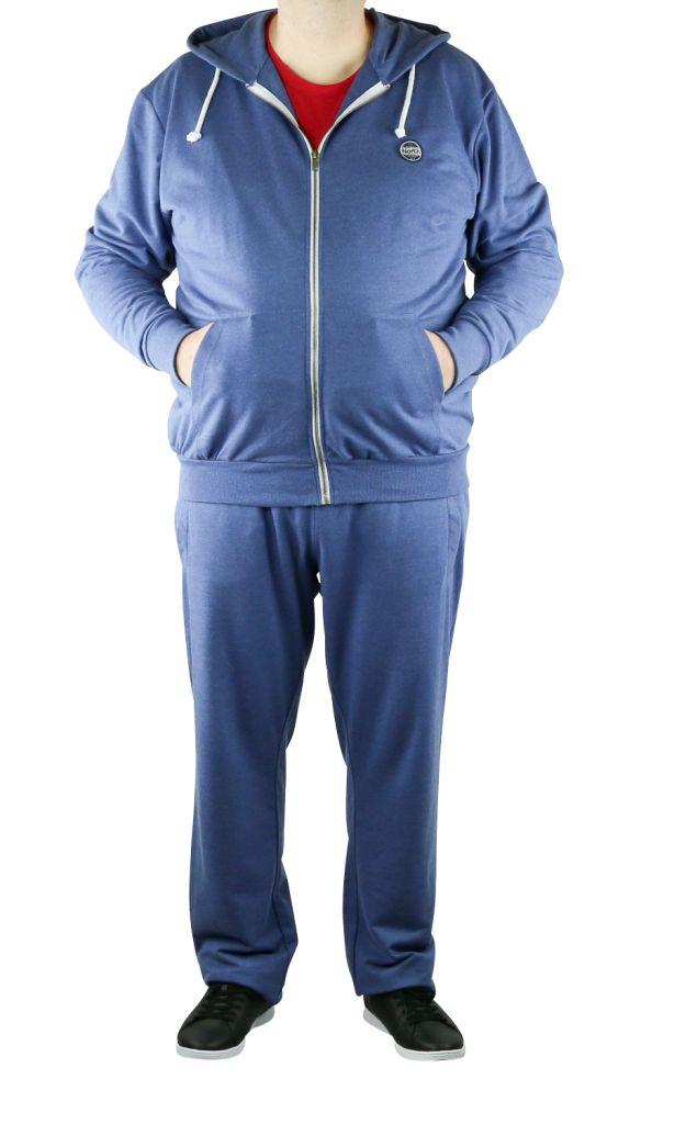 Pantalon de Jogging 100% Coton Bleu Marine All Size