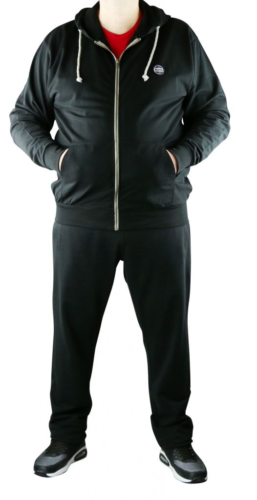 F-Ensemble jogging noir All Size 99833-099-0915