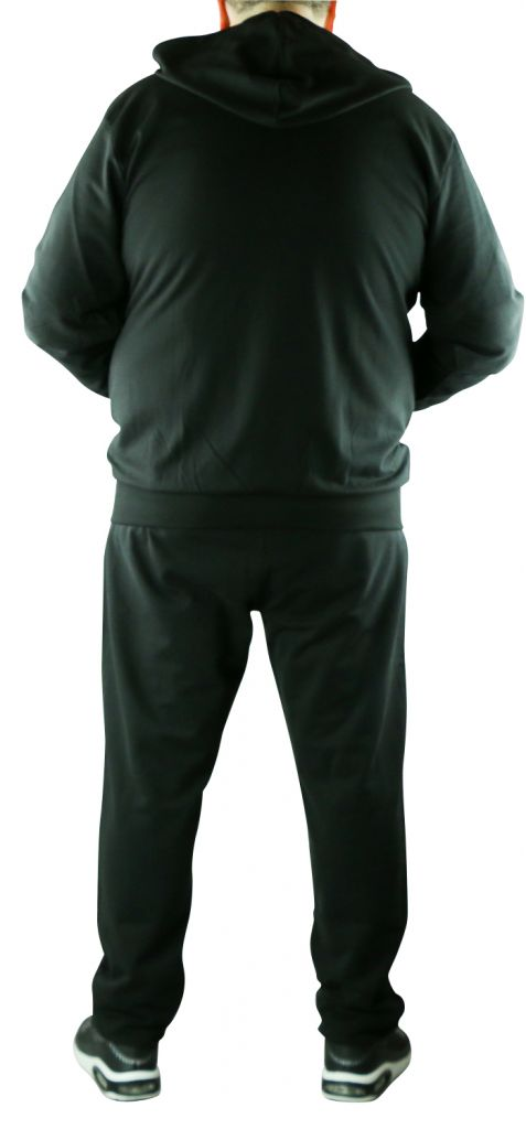 F-Ensemble jogging noir All Size 99833-099-0916