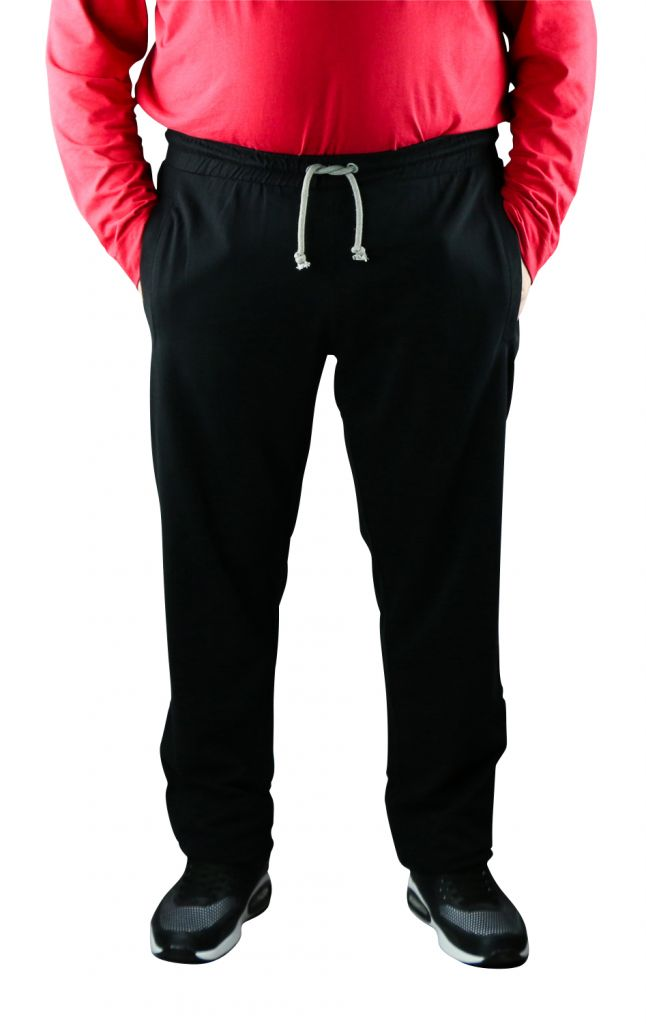 Pantalon de Jogging 100% Cotton Noir All Size