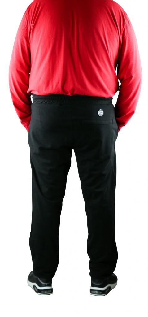 Pantalon de Jogging 100% Cotton Noir All Size