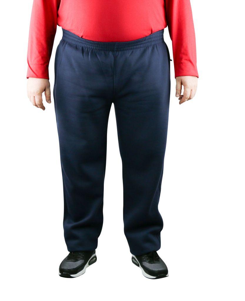 pantalon de jogging grande taille homme bleu marine albert de duke. Black Bedroom Furniture Sets. Home Design Ideas