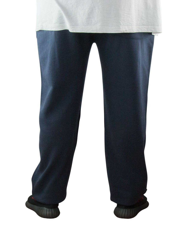 Pantalon de Jogging Grande Taille Homme Bleu Marine ALBERT de DUKE