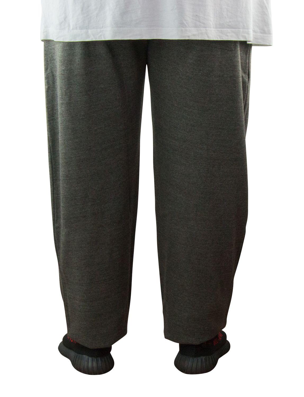 Pantalon de Jogging Gris Grande Taille ALBERT de DUKE