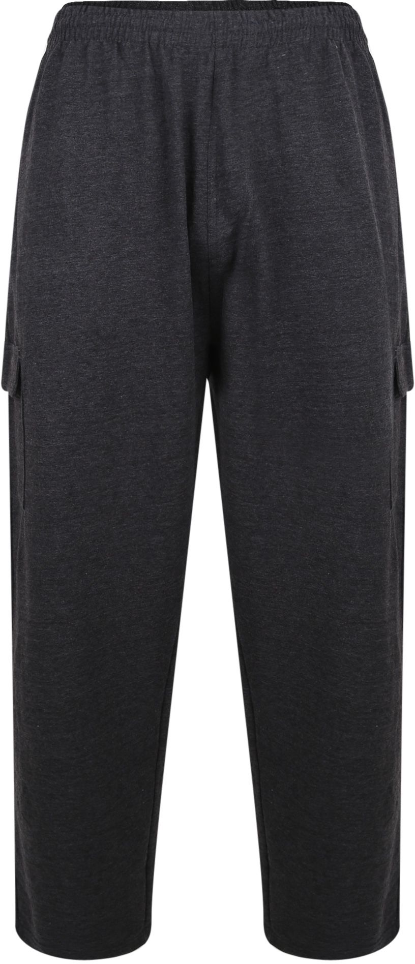 Pantalon de Jogging Gris Grande Taille KAM JEANSWEAR Taille Haute