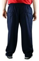 Pantalon de Jogging Micro Fibre Bleu Marine Foncé Ahorn