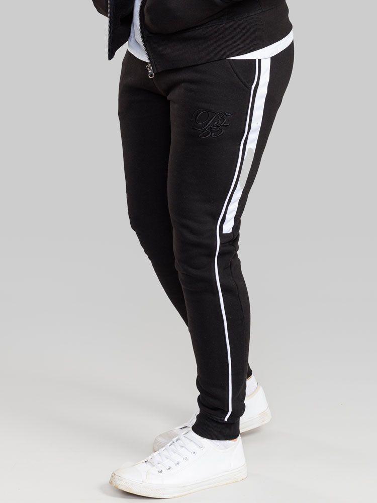 Pantalon de Jogging Noir Duke 3XL à 6XL