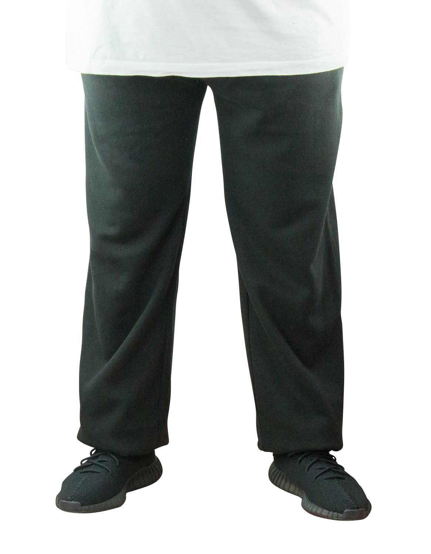 Pantalon de Jogging Noir Grande Taille ALBERT de DUKE