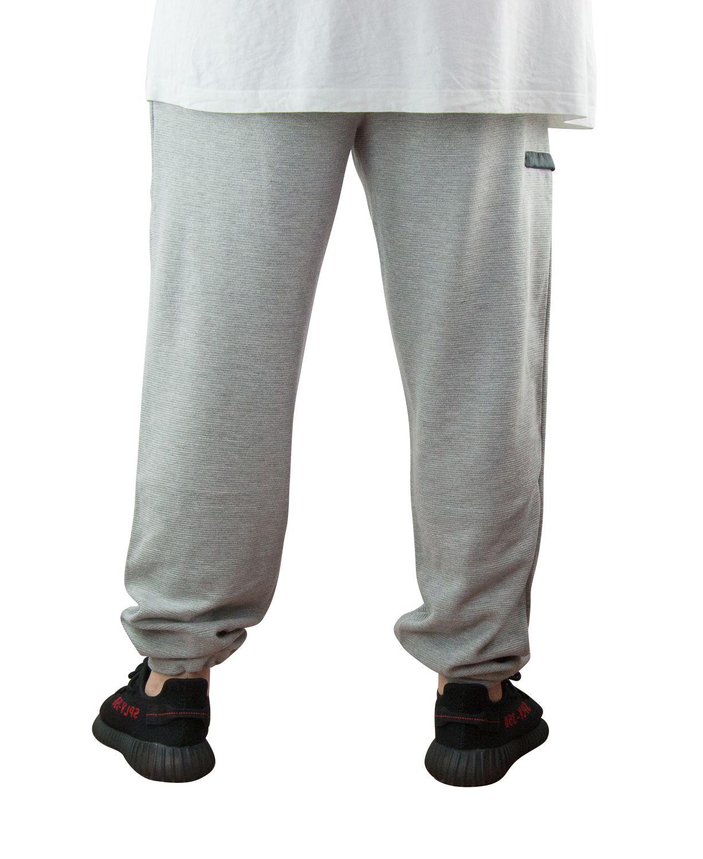 Pantalon de Jogging Ottoman 100% Coton Gris All Size