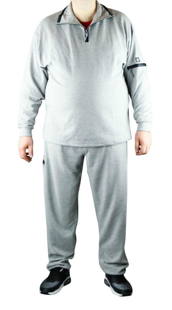 Pantalon de Jogging Ottoman 100% Cotton Gris All Size