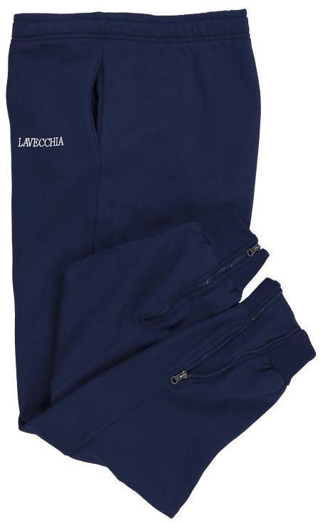 Pantalon de Jogging Taille Haute Bleu Marine du 3XL au 8XL Lavecchia