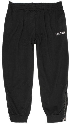 Pantalon de Jogging Taille Haute Noir du 3XL au 8XL Lavecchia