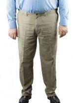 "Pantalon Grande Taille Chino \""Bruno\"" Beige Duke"