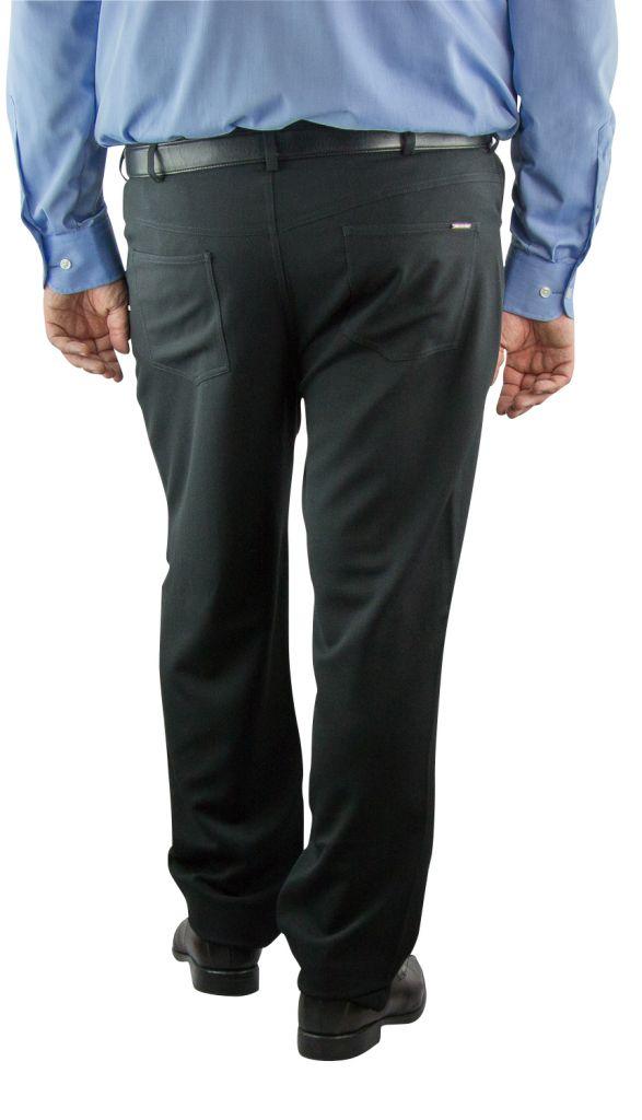 pantalon grande taille homme beck noir duke. Black Bedroom Furniture Sets. Home Design Ideas