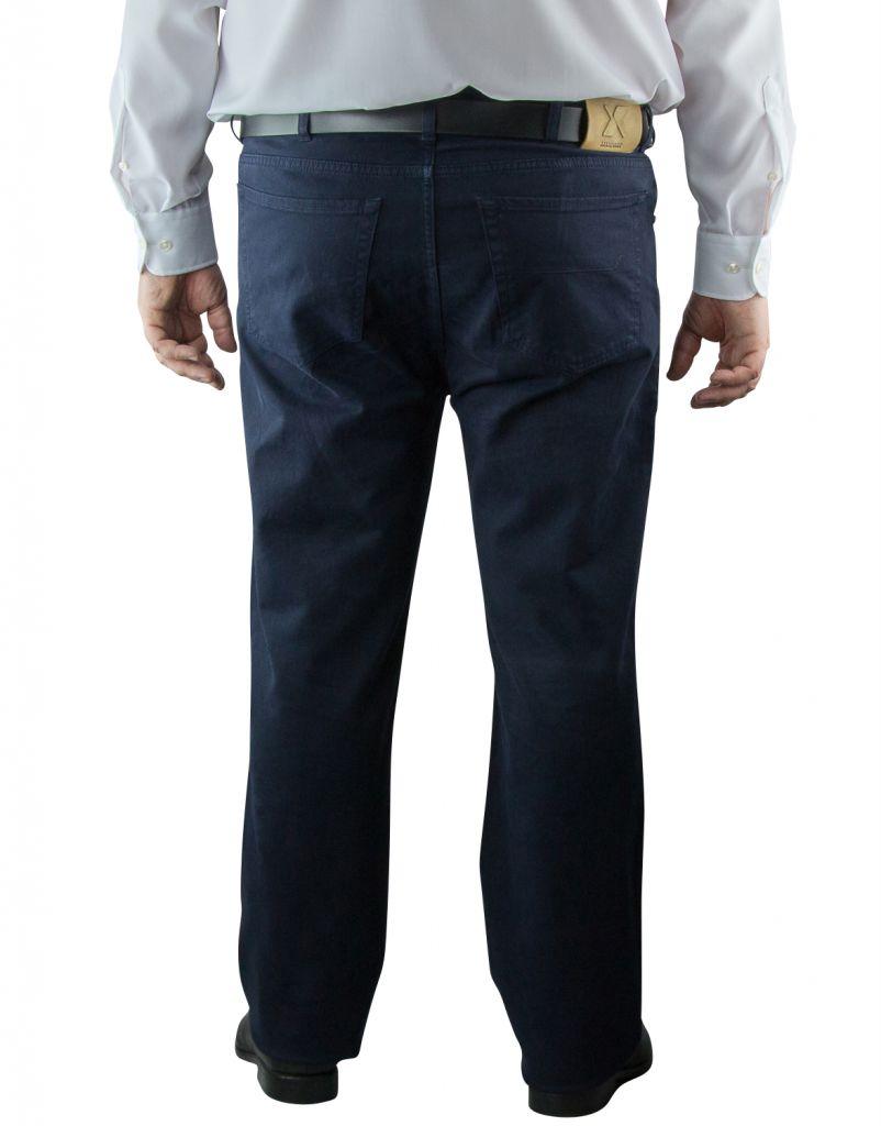Pantalon Stretch Bleu Marine du 54Fr  au 88Fr Maxfort