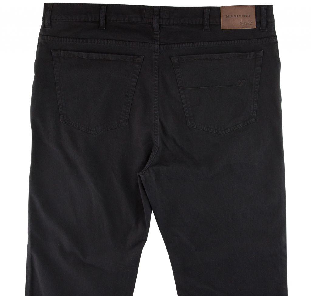 Pantalon Stretch Noir du 54Fr  au 88Fr Maxfort
