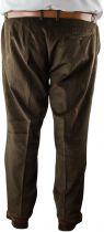 Pantalon Stretch Velours Marron Pierre d\'Arlanc du 54FR au 74FR