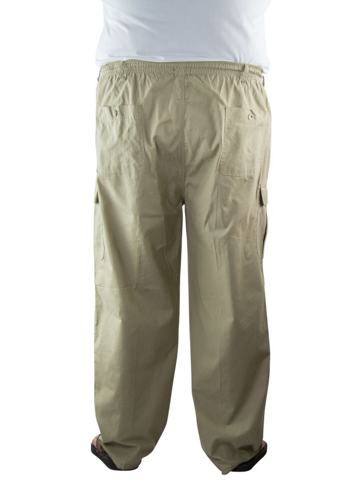 Pantalon Toile Coton Beige Stormylife du 2XL au 5XL