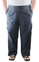 Pantalon Toile Coton Bleu Marine Stormylife du 2XL au 5XL