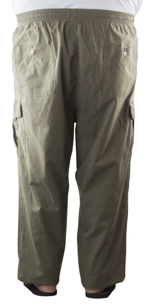 Pantalon Toile Coton Kaki Stormylife du 2XL au 5XL