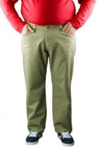 Pantalon Twill Jean Collection North 56°4 Beige Foncé All Size