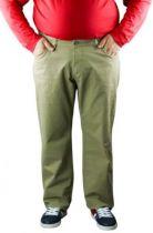 Pantalon Twill Jean Collection North 56°4 Beige Foncé All Size