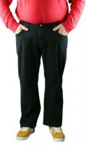 Pantalon Twill Jean Collection North 56°4 Noir All Size