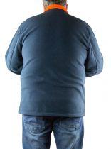 Polaire Homme Grande Taille  Du 2 au 8 XL Bleu Marine Brigg