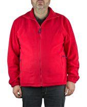 Polaire Homme Grande Taille  Du 2 au 8 XL Rouge Brigg