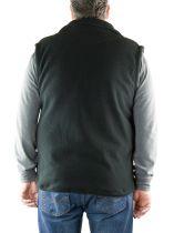 Polaire Sans Manche Homme Grande Taille Noir Brigg du 2XL au 10XL