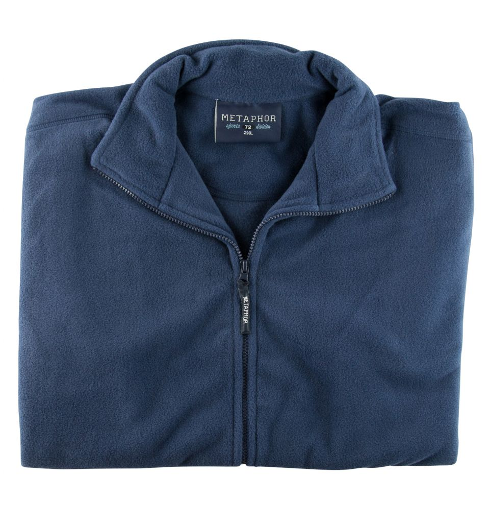 Polaire Sans Manches Bleu Marine Cotton Valley du 2XL au 8XL
