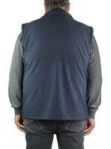 Polaire Sans Manches Homme Grande Taille Du 2 au 8 XL Bleu Marine Brigg