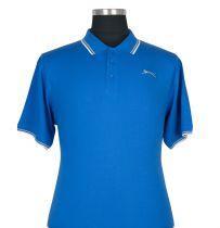 Polo à Manches Courtes  Bleu du 2XL au 5XL Slazenger