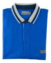 Polo Manches Courtes Bleu  du 2XL au 6XL Kangol
