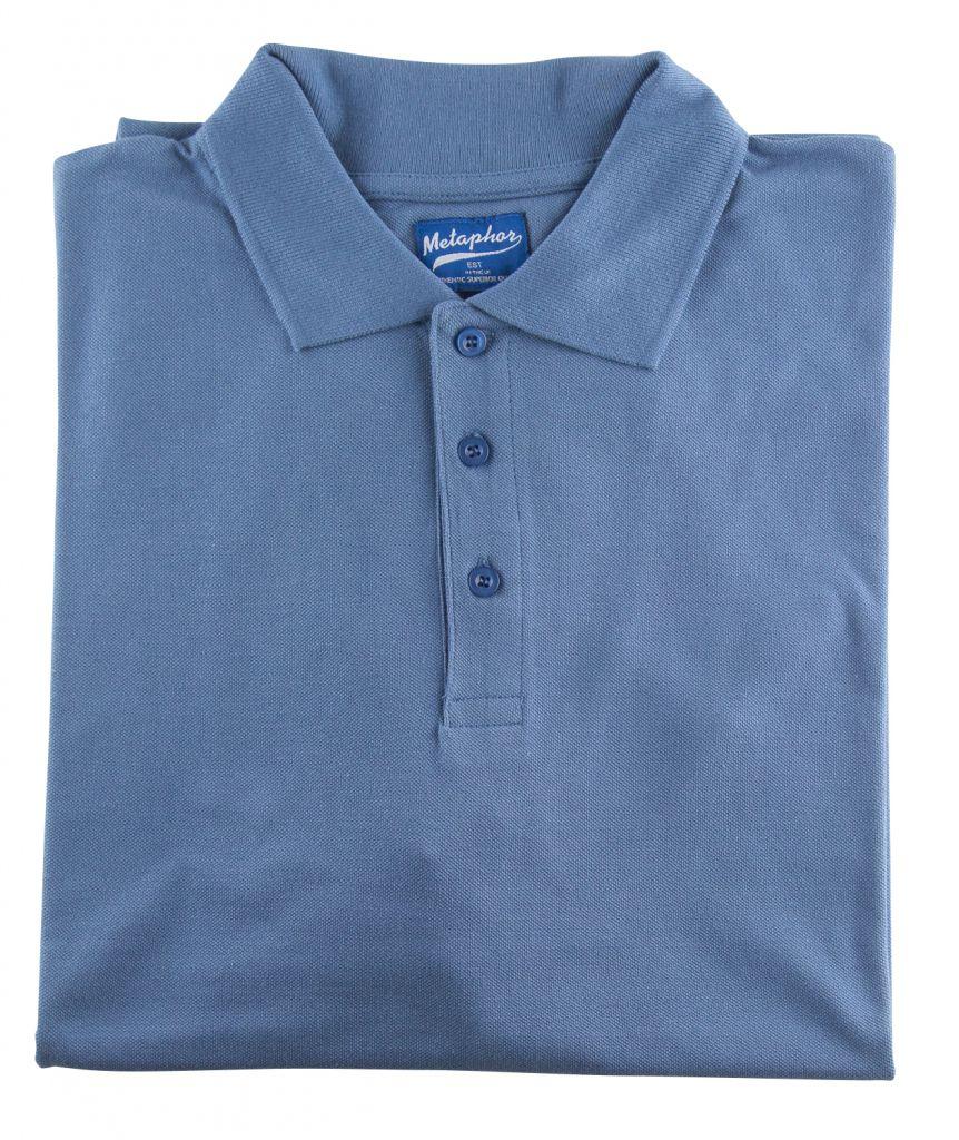 Polo Manches Courtes Bleu du 2XL au 8XL