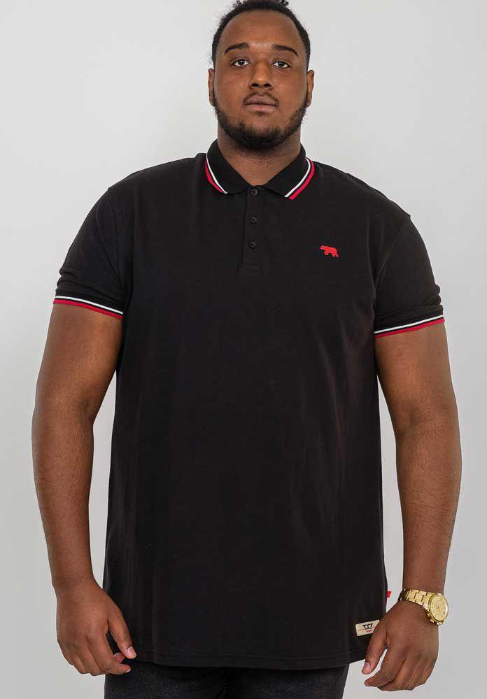 Polo Manches Courtes Noir Duke 2XL au 8XL