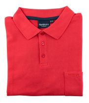 Polo Manches Courtes Rouge du 2XL au 8XL All Size