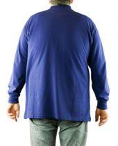 Polo Manches Longues Bleu Marine Maxfort