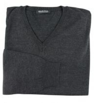 Pull Laine Woolmark Col V Anthracite  Monte Carlo