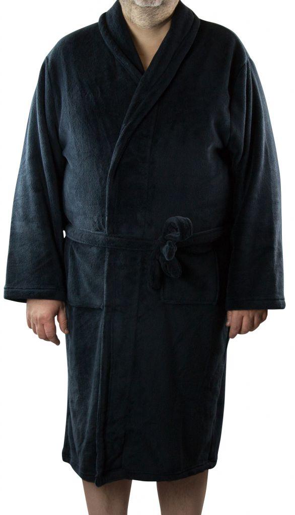 Robe de Chambre Polaire Bleu Marine Espionage du 2XL au 8XL