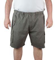 Short Cargo Gris Espionage du 2XL au 8XL