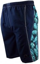Short de Bain Bleu  Marine & imprimé Floral Espionage du 2XL au 8XL