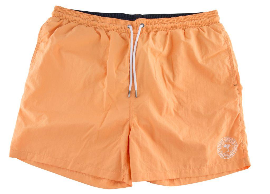 Short de Bain Orange Kitaro du 2XL au 8XL