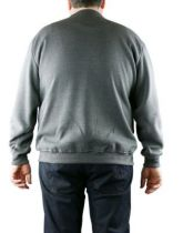 Sweat Col Rond Gris DUKE