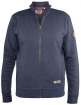 Sweat Zip Indigo Duke Du 3XL au 8XL